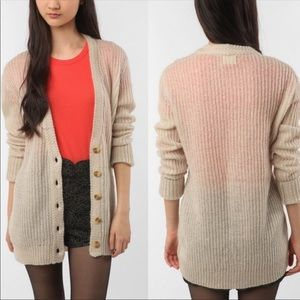 Pins and Needles Oversized Mohair Cardigan